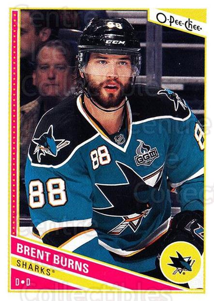 2013-14 O-Pee-Chee #222 Brent Burns<br/>6 In Stock - $1.00 each - <a href=https://centericecollectibles.foxycart.com/cart?name=2013-14%20O-Pee-Chee%20%23222%20Brent%20Burns...&quantity_max=6&price=$1.00&code=671993 class=foxycart> Buy it now! </a>