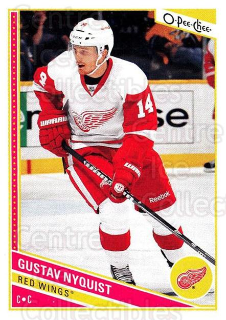2013-14 O-Pee-Chee #225 Gustav Nyquist<br/>7 In Stock - $1.00 each - <a href=https://centericecollectibles.foxycart.com/cart?name=2013-14%20O-Pee-Chee%20%23225%20Gustav%20Nyquist...&quantity_max=7&price=$1.00&code=671996 class=foxycart> Buy it now! </a>