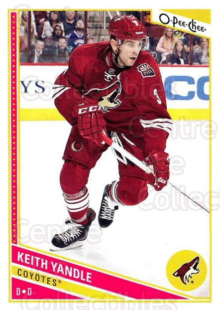 2013-14 O-Pee-Chee #229 Keith Yandle<br/>8 In Stock - $1.00 each - <a href=https://centericecollectibles.foxycart.com/cart?name=2013-14%20O-Pee-Chee%20%23229%20Keith%20Yandle...&quantity_max=8&price=$1.00&code=672000 class=foxycart> Buy it now! </a>