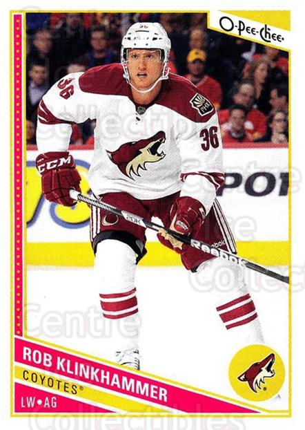 2013-14 O-Pee-Chee #237 Rob Klinkhammer<br/>7 In Stock - $1.00 each - <a href=https://centericecollectibles.foxycart.com/cart?name=2013-14%20O-Pee-Chee%20%23237%20Rob%20Klinkhammer...&quantity_max=7&price=$1.00&code=672008 class=foxycart> Buy it now! </a>