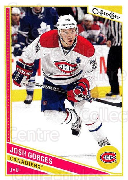 2013-14 O-Pee-Chee #241 Josh Gorges<br/>6 In Stock - $1.00 each - <a href=https://centericecollectibles.foxycart.com/cart?name=2013-14%20O-Pee-Chee%20%23241%20Josh%20Gorges...&quantity_max=6&price=$1.00&code=672012 class=foxycart> Buy it now! </a>