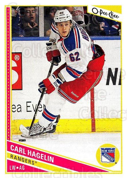 2013-14 O-Pee-Chee #243 Carl Hagelin<br/>8 In Stock - $1.00 each - <a href=https://centericecollectibles.foxycart.com/cart?name=2013-14%20O-Pee-Chee%20%23243%20Carl%20Hagelin...&quantity_max=8&price=$1.00&code=672014 class=foxycart> Buy it now! </a>