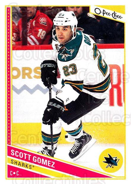 2013-14 O-Pee-Chee #245 Scott Gomez<br/>8 In Stock - $1.00 each - <a href=https://centericecollectibles.foxycart.com/cart?name=2013-14%20O-Pee-Chee%20%23245%20Scott%20Gomez...&quantity_max=8&price=$1.00&code=672016 class=foxycart> Buy it now! </a>