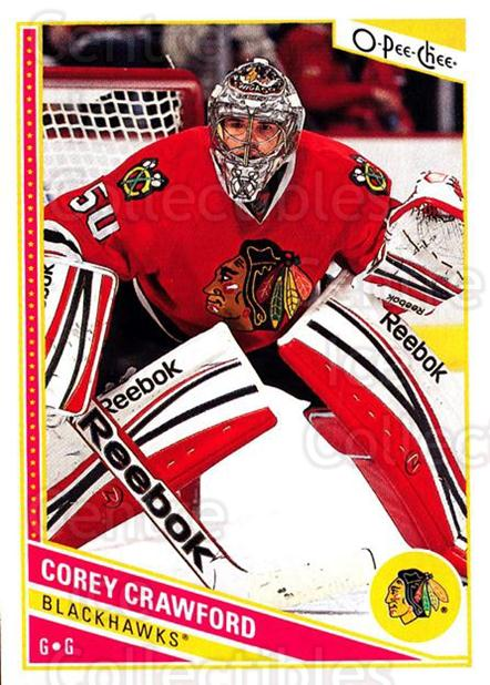 2013-14 O-Pee-Chee #246 Corey Crawford<br/>8 In Stock - $1.00 each - <a href=https://centericecollectibles.foxycart.com/cart?name=2013-14%20O-Pee-Chee%20%23246%20Corey%20Crawford...&quantity_max=8&price=$1.00&code=672017 class=foxycart> Buy it now! </a>