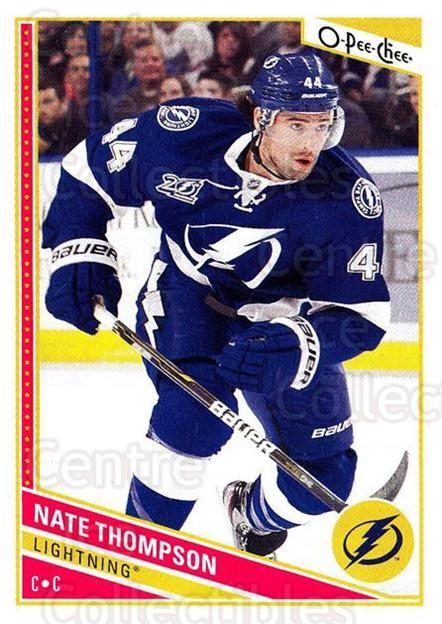 2013-14 O-Pee-Chee #249 Nate Thompson<br/>8 In Stock - $1.00 each - <a href=https://centericecollectibles.foxycart.com/cart?name=2013-14%20O-Pee-Chee%20%23249%20Nate%20Thompson...&quantity_max=8&price=$1.00&code=672020 class=foxycart> Buy it now! </a>