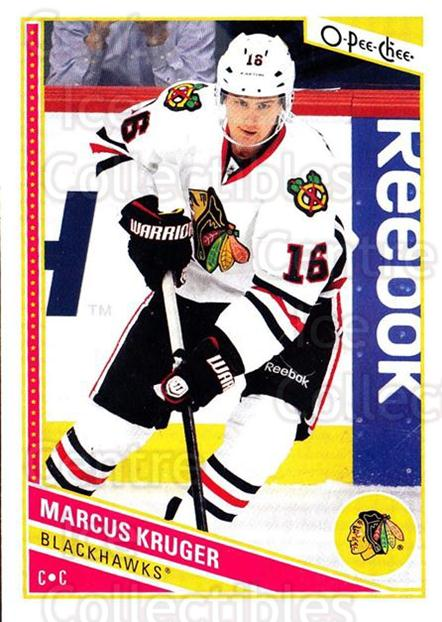 2013-14 O-Pee-Chee #260 Marcus Kruger<br/>7 In Stock - $1.00 each - <a href=https://centericecollectibles.foxycart.com/cart?name=2013-14%20O-Pee-Chee%20%23260%20Marcus%20Kruger...&quantity_max=7&price=$1.00&code=672031 class=foxycart> Buy it now! </a>