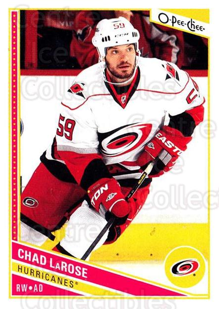 2013-14 O-Pee-Chee #265 Chad LaRose<br/>8 In Stock - $1.00 each - <a href=https://centericecollectibles.foxycart.com/cart?name=2013-14%20O-Pee-Chee%20%23265%20Chad%20LaRose...&quantity_max=8&price=$1.00&code=672036 class=foxycart> Buy it now! </a>