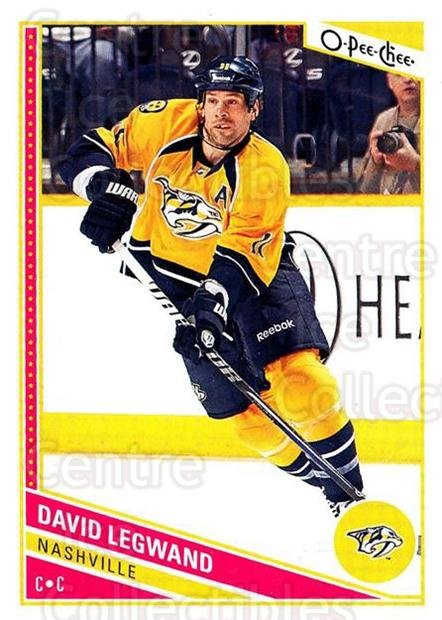 2013-14 O-Pee-Chee #266 David Legwand<br/>8 In Stock - $1.00 each - <a href=https://centericecollectibles.foxycart.com/cart?name=2013-14%20O-Pee-Chee%20%23266%20David%20Legwand...&quantity_max=8&price=$1.00&code=672037 class=foxycart> Buy it now! </a>