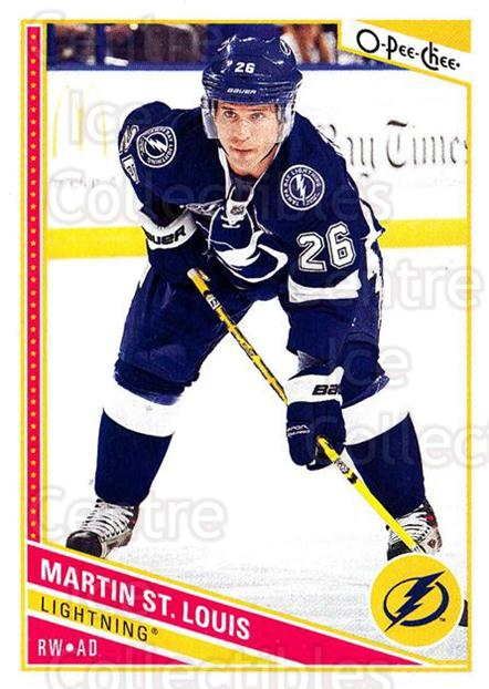 2013-14 O-Pee-Chee #268 Martin St. Louis<br/>8 In Stock - $1.00 each - <a href=https://centericecollectibles.foxycart.com/cart?name=2013-14%20O-Pee-Chee%20%23268%20Martin%20St.%20Loui...&quantity_max=8&price=$1.00&code=672039 class=foxycart> Buy it now! </a>
