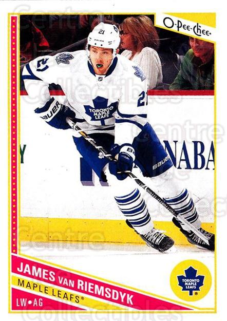 2013-14 O-Pee-Chee #270 James van Riemsdyk<br/>8 In Stock - $1.00 each - <a href=https://centericecollectibles.foxycart.com/cart?name=2013-14%20O-Pee-Chee%20%23270%20James%20van%20Riems...&quantity_max=8&price=$1.00&code=672041 class=foxycart> Buy it now! </a>