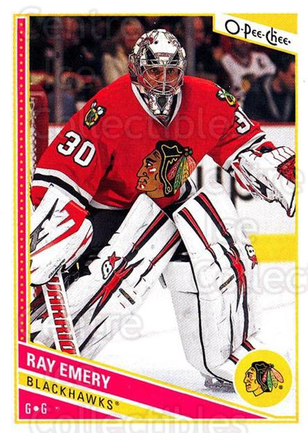 2013-14 O-Pee-Chee #282 Ray Emery<br/>8 In Stock - $1.00 each - <a href=https://centericecollectibles.foxycart.com/cart?name=2013-14%20O-Pee-Chee%20%23282%20Ray%20Emery...&quantity_max=8&price=$1.00&code=672053 class=foxycart> Buy it now! </a>
