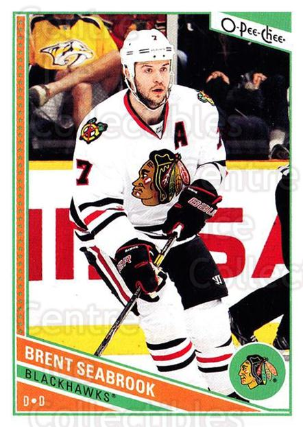 2013-14 O-Pee-Chee #316 Brent Seabrook<br/>8 In Stock - $1.00 each - <a href=https://centericecollectibles.foxycart.com/cart?name=2013-14%20O-Pee-Chee%20%23316%20Brent%20Seabrook...&quantity_max=8&price=$1.00&code=672087 class=foxycart> Buy it now! </a>
