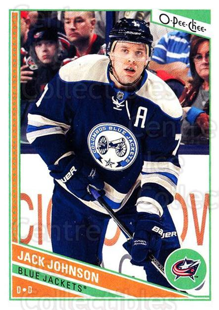 2013-14 O-Pee-Chee #320 Jack Johnson<br/>8 In Stock - $1.00 each - <a href=https://centericecollectibles.foxycart.com/cart?name=2013-14%20O-Pee-Chee%20%23320%20Jack%20Johnson...&quantity_max=8&price=$1.00&code=672091 class=foxycart> Buy it now! </a>