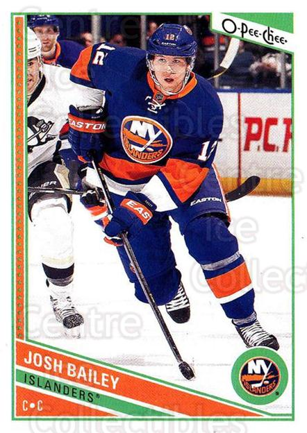 2013-14 O-Pee-Chee #369 Josh Bailey<br/>8 In Stock - $1.00 each - <a href=https://centericecollectibles.foxycart.com/cart?name=2013-14%20O-Pee-Chee%20%23369%20Josh%20Bailey...&quantity_max=8&price=$1.00&code=672140 class=foxycart> Buy it now! </a>