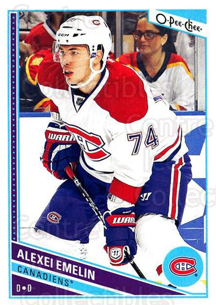 2013-14 O-Pee-Chee #408 Alexei Emelin<br/>7 In Stock - $1.00 each - <a href=https://centericecollectibles.foxycart.com/cart?name=2013-14%20O-Pee-Chee%20%23408%20Alexei%20Emelin...&quantity_max=7&price=$1.00&code=672179 class=foxycart> Buy it now! </a>