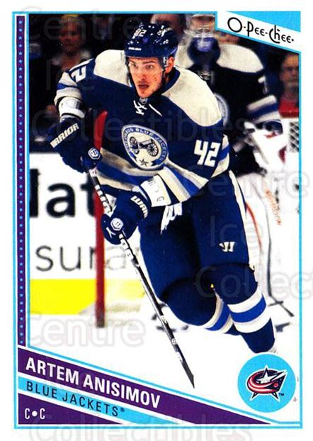 2013-14 O-Pee-Chee #435 Artem Anisimov<br/>8 In Stock - $1.00 each - <a href=https://centericecollectibles.foxycart.com/cart?name=2013-14%20O-Pee-Chee%20%23435%20Artem%20Anisimov...&quantity_max=8&price=$1.00&code=672206 class=foxycart> Buy it now! </a>