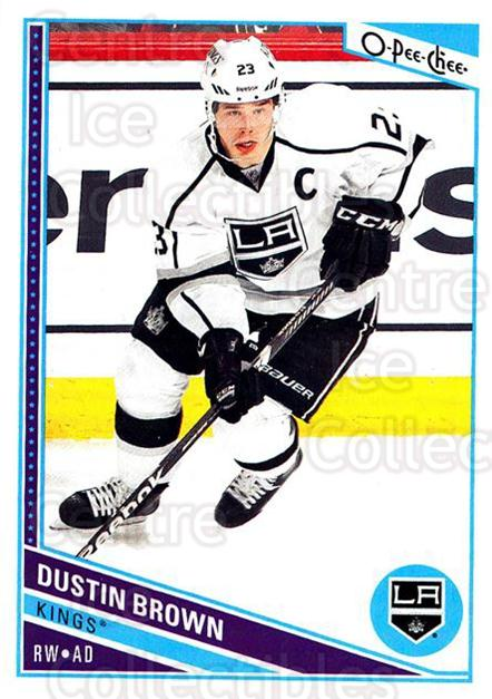 2013-14 O-Pee-Chee #453 Dustin Brown<br/>8 In Stock - $1.00 each - <a href=https://centericecollectibles.foxycart.com/cart?name=2013-14%20O-Pee-Chee%20%23453%20Dustin%20Brown...&quantity_max=8&price=$1.00&code=672224 class=foxycart> Buy it now! </a>