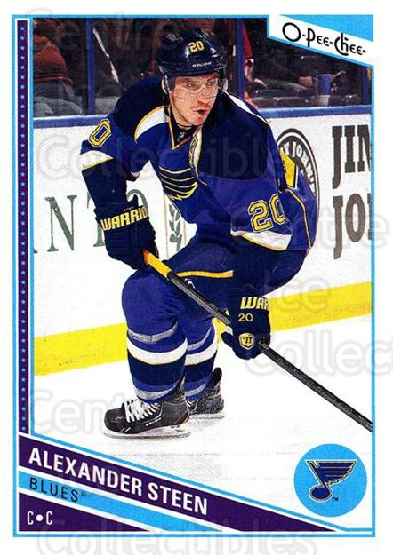 2013-14 O-Pee-Chee #454 Alexander Steen<br/>6 In Stock - $1.00 each - <a href=https://centericecollectibles.foxycart.com/cart?name=2013-14%20O-Pee-Chee%20%23454%20Alexander%20Steen...&quantity_max=6&price=$1.00&code=672225 class=foxycart> Buy it now! </a>