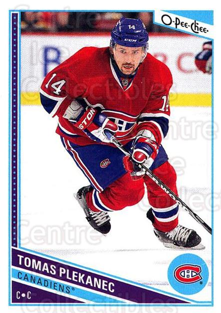 2013-14 O-Pee-Chee #473 Tomas Plekanec<br/>8 In Stock - $1.00 each - <a href=https://centericecollectibles.foxycart.com/cart?name=2013-14%20O-Pee-Chee%20%23473%20Tomas%20Plekanec...&quantity_max=8&price=$1.00&code=672244 class=foxycart> Buy it now! </a>