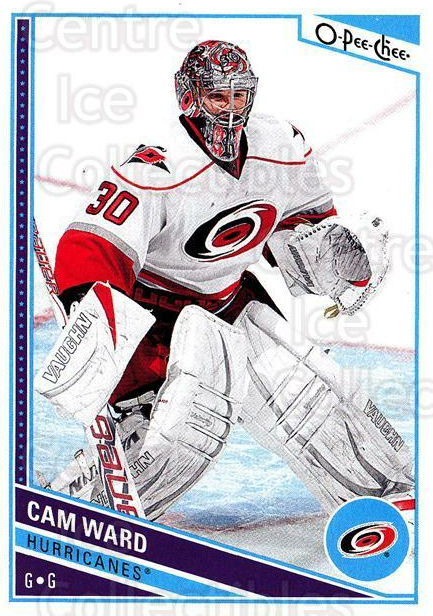 2013-14 O-Pee-Chee #481 Cam Ward<br/>1 In Stock - $1.00 each - <a href=https://centericecollectibles.foxycart.com/cart?name=2013-14%20O-Pee-Chee%20%23481%20Cam%20Ward...&price=$1.00&code=672252 class=foxycart> Buy it now! </a>