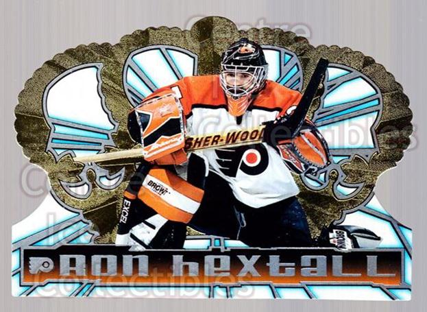 1998-99 Crown Royale #98 Ron Hextall<br/>3 In Stock - $1.00 each - <a href=https://centericecollectibles.foxycart.com/cart?name=1998-99%20Crown%20Royale%20%2398%20Ron%20Hextall...&quantity_max=3&price=$1.00&code=67225 class=foxycart> Buy it now! </a>