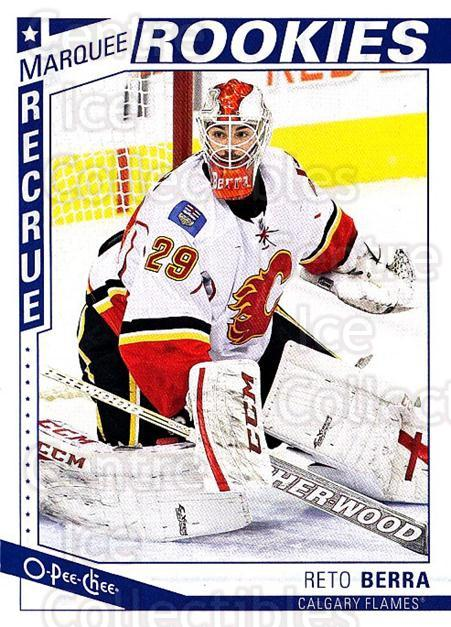 2013-14 O-Pee-Chee #627 Reto Berra<br/>1 In Stock - $3.00 each - <a href=https://centericecollectibles.foxycart.com/cart?name=2013-14%20O-Pee-Chee%20%23627%20Reto%20Berra...&quantity_max=1&price=$3.00&code=672398 class=foxycart> Buy it now! </a>