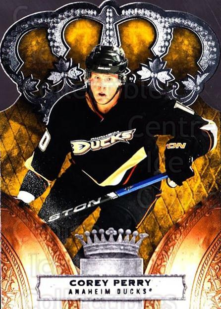 2010-11 Crown Royale #4 Corey Perry<br/>1 In Stock - $1.00 each - <a href=https://centericecollectibles.foxycart.com/cart?name=2010-11%20Crown%20Royale%20%234%20Corey%20Perry...&quantity_max=1&price=$1.00&code=672417 class=foxycart> Buy it now! </a>