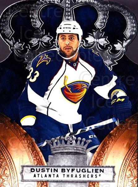 2010-11 Crown Royale #5 Dustin Byfuglien<br/>1 In Stock - $1.00 each - <a href=https://centericecollectibles.foxycart.com/cart?name=2010-11%20Crown%20Royale%20%235%20Dustin%20Byfuglie...&quantity_max=1&price=$1.00&code=672418 class=foxycart> Buy it now! </a>