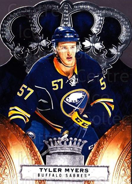 2010-11 Crown Royale #12 Tyler Myers<br/>1 In Stock - $1.00 each - <a href=https://centericecollectibles.foxycart.com/cart?name=2010-11%20Crown%20Royale%20%2312%20Tyler%20Myers...&quantity_max=1&price=$1.00&code=672425 class=foxycart> Buy it now! </a>