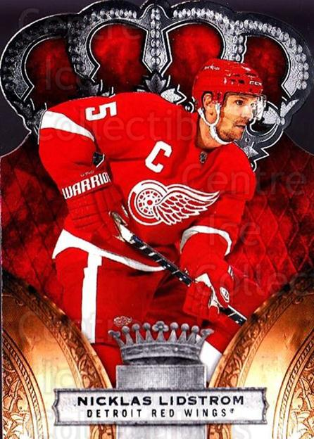 2010-11 Crown Royale #37 Nicklas Lidstrom<br/>1 In Stock - $1.00 each - <a href=https://centericecollectibles.foxycart.com/cart?name=2010-11%20Crown%20Royale%20%2337%20Nicklas%20Lidstro...&quantity_max=1&price=$1.00&code=672450 class=foxycart> Buy it now! </a>