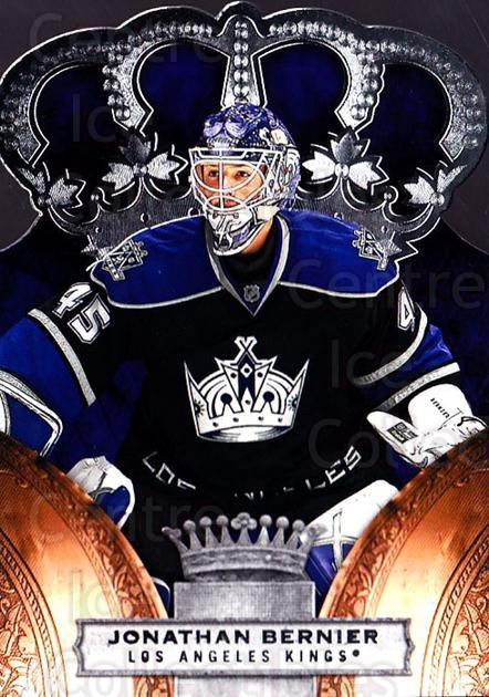 2010-11 Crown Royale #46 Jonathan Bernier<br/>1 In Stock - $1.00 each - <a href=https://centericecollectibles.foxycart.com/cart?name=2010-11%20Crown%20Royale%20%2346%20Jonathan%20Bernie...&quantity_max=1&price=$1.00&code=672459 class=foxycart> Buy it now! </a>