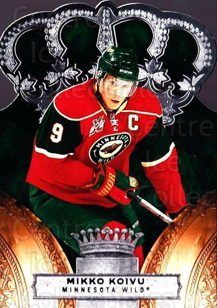 2010-11 Crown Royale #48 Mikko Koivu<br/>1 In Stock - $1.00 each - <a href=https://centericecollectibles.foxycart.com/cart?name=2010-11%20Crown%20Royale%20%2348%20Mikko%20Koivu...&quantity_max=1&price=$1.00&code=672461 class=foxycart> Buy it now! </a>