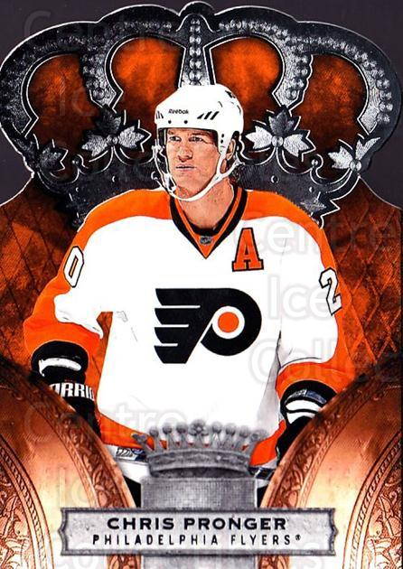 2010-11 Crown Royale #72 Chris Pronger<br/>1 In Stock - $1.00 each - <a href=https://centericecollectibles.foxycart.com/cart?name=2010-11%20Crown%20Royale%20%2372%20Chris%20Pronger...&quantity_max=1&price=$1.00&code=672485 class=foxycart> Buy it now! </a>