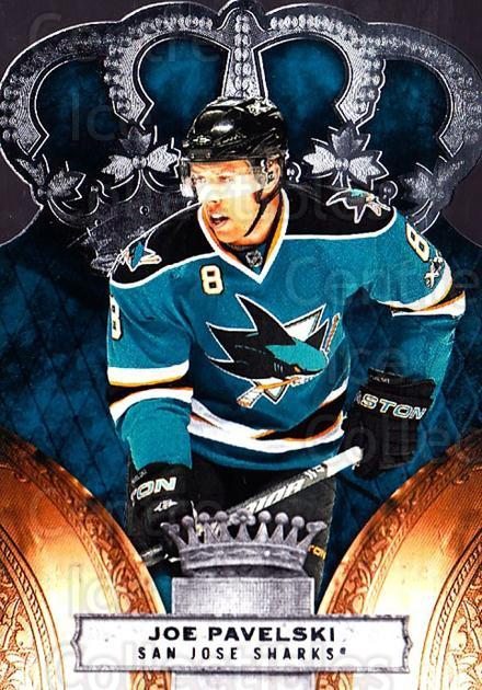 2010-11 Crown Royale #80 Joe Pavelski<br/>1 In Stock - $1.00 each - <a href=https://centericecollectibles.foxycart.com/cart?name=2010-11%20Crown%20Royale%20%2380%20Joe%20Pavelski...&quantity_max=1&price=$1.00&code=672493 class=foxycart> Buy it now! </a>
