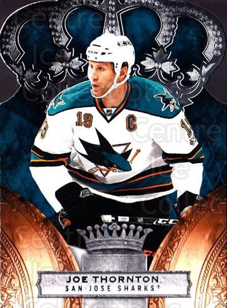 2010-11 Crown Royale #81 Joe Thornton<br/>1 In Stock - $1.00 each - <a href=https://centericecollectibles.foxycart.com/cart?name=2010-11%20Crown%20Royale%20%2381%20Joe%20Thornton...&quantity_max=1&price=$1.00&code=672494 class=foxycart> Buy it now! </a>
