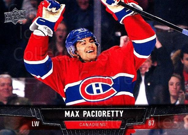 2013-14 Upper Deck #9 Max Pacioretty<br/>20 In Stock - $1.00 each - <a href=https://centericecollectibles.foxycart.com/cart?name=2013-14%20Upper%20Deck%20%239%20Max%20Pacioretty...&quantity_max=20&price=$1.00&code=672597 class=foxycart> Buy it now! </a>