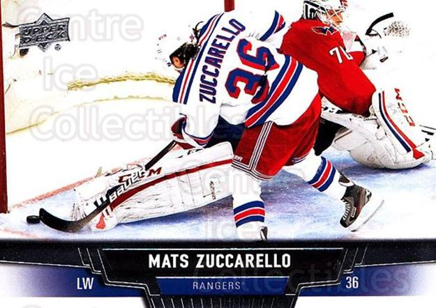 2013-14 Upper Deck #25 Mats Zuccarello-Aasen<br/>20 In Stock - $1.00 each - <a href=https://centericecollectibles.foxycart.com/cart?name=2013-14%20Upper%20Deck%20%2325%20Mats%20Zuccarello...&quantity_max=20&price=$1.00&code=672613 class=foxycart> Buy it now! </a>