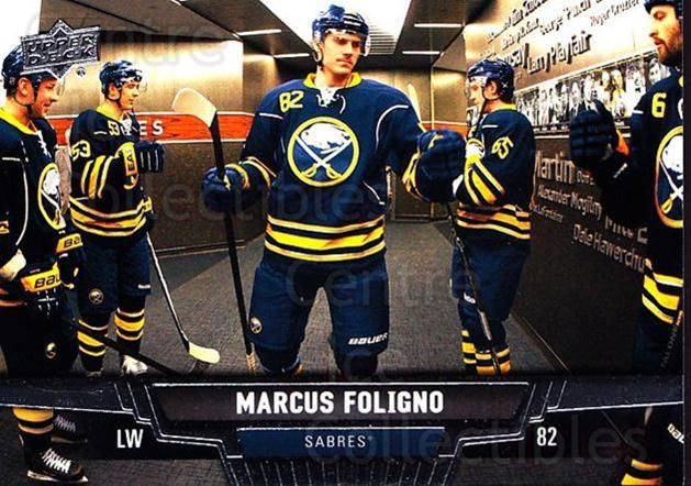 2013-14 Upper Deck #64 Marcus Foligno<br/>20 In Stock - $1.00 each - <a href=https://centericecollectibles.foxycart.com/cart?name=2013-14%20Upper%20Deck%20%2364%20Marcus%20Foligno...&quantity_max=20&price=$1.00&code=672652 class=foxycart> Buy it now! </a>
