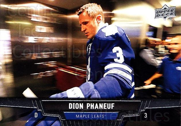 2013-14 Upper Deck #68 Dion Phaneuf<br/>20 In Stock - $1.00 each - <a href=https://centericecollectibles.foxycart.com/cart?name=2013-14%20Upper%20Deck%20%2368%20Dion%20Phaneuf...&price=$1.00&code=672656 class=foxycart> Buy it now! </a>