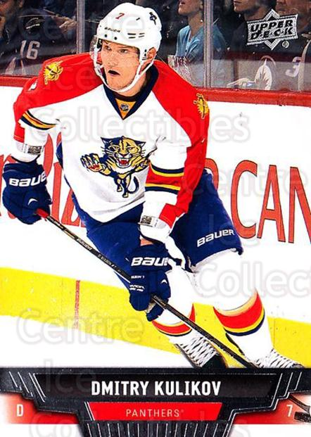 2013-14 Upper Deck #85 Dmitry Kulikov<br/>20 In Stock - $1.00 each - <a href=https://centericecollectibles.foxycart.com/cart?name=2013-14%20Upper%20Deck%20%2385%20Dmitry%20Kulikov...&quantity_max=20&price=$1.00&code=672673 class=foxycart> Buy it now! </a>
