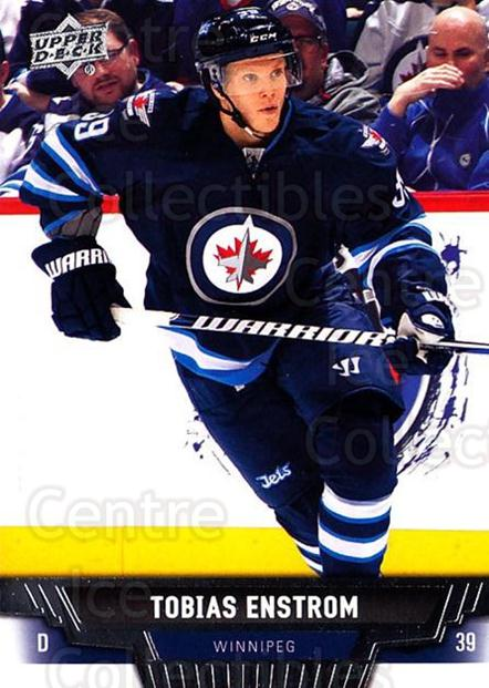 2013-14 Upper Deck #142 Tobias Enstrom<br/>20 In Stock - $1.00 each - <a href=https://centericecollectibles.foxycart.com/cart?name=2013-14%20Upper%20Deck%20%23142%20Tobias%20Enstrom...&quantity_max=20&price=$1.00&code=672730 class=foxycart> Buy it now! </a>