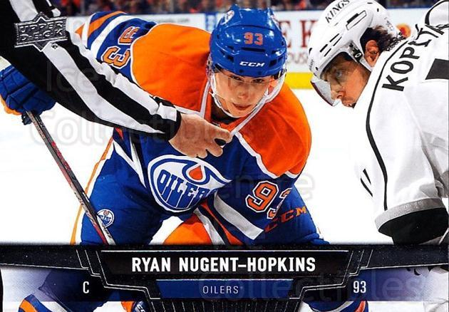 2013-14 Upper Deck #164 Ryan Nugent-Hopkins<br/>19 In Stock - $1.00 each - <a href=https://centericecollectibles.foxycart.com/cart?name=2013-14%20Upper%20Deck%20%23164%20Ryan%20Nugent-Hop...&quantity_max=19&price=$1.00&code=672752 class=foxycart> Buy it now! </a>