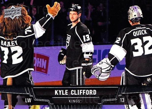 2013-14 Upper Deck #181 Kyle Clifford<br/>20 In Stock - $1.00 each - <a href=https://centericecollectibles.foxycart.com/cart?name=2013-14%20Upper%20Deck%20%23181%20Kyle%20Clifford...&quantity_max=20&price=$1.00&code=672769 class=foxycart> Buy it now! </a>