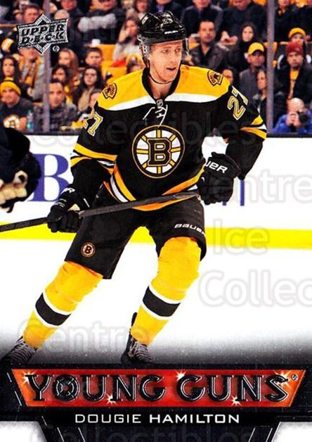 2013-14 Upper Deck #202 Dougie Hamilton<br/>7 In Stock - $10.00 each - <a href=https://centericecollectibles.foxycart.com/cart?name=2013-14%20Upper%20Deck%20%23202%20Dougie%20Hamilton...&quantity_max=7&price=$10.00&code=672790 class=foxycart> Buy it now! </a>