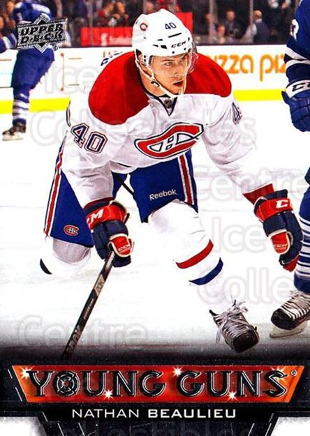 2013-14 Upper Deck #207 Nathan Beaulieu<br/>8 In Stock - $5.00 each - <a href=https://centericecollectibles.foxycart.com/cart?name=2013-14%20Upper%20Deck%20%23207%20Nathan%20Beaulieu...&price=$5.00&code=672795 class=foxycart> Buy it now! </a>