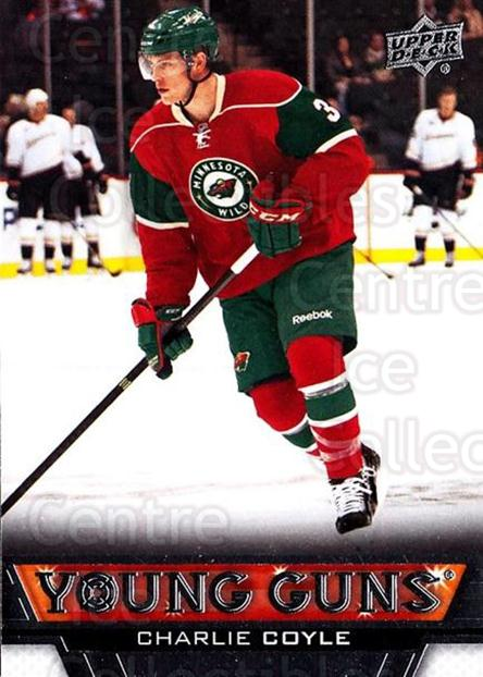2013-14 Upper Deck #233 Charlie Coyle<br/>10 In Stock - $5.00 each - <a href=https://centericecollectibles.foxycart.com/cart?name=2013-14%20Upper%20Deck%20%23233%20Charlie%20Coyle...&quantity_max=10&price=$5.00&code=672821 class=foxycart> Buy it now! </a>