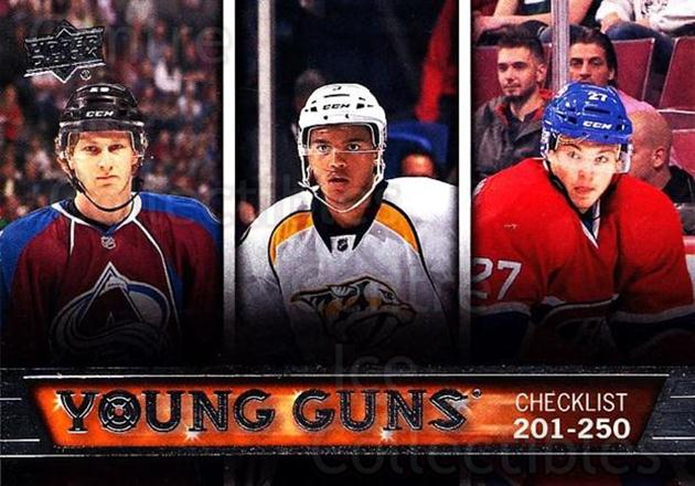 2013-14 Upper Deck #250 Nathan MacKinnon, Seth Jones, Alex Galchenyuk, Checklist<br/>8 In Stock - $5.00 each - <a href=https://centericecollectibles.foxycart.com/cart?name=2013-14%20Upper%20Deck%20%23250%20Nathan%20MacKinno...&quantity_max=8&price=$5.00&code=672838 class=foxycart> Buy it now! </a>