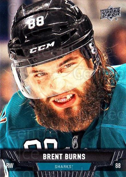 2013-14 Upper Deck #259 Brent Burns<br/>12 In Stock - $1.00 each - <a href=https://centericecollectibles.foxycart.com/cart?name=2013-14%20Upper%20Deck%20%23259%20Brent%20Burns...&quantity_max=12&price=$1.00&code=672847 class=foxycart> Buy it now! </a>