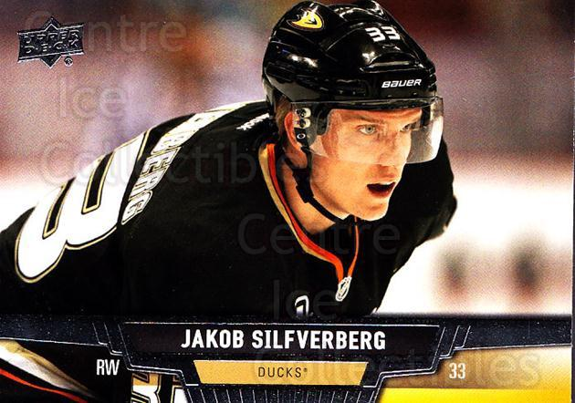 2013-14 Upper Deck #274 Jakob Silfverberg<br/>13 In Stock - $1.00 each - <a href=https://centericecollectibles.foxycart.com/cart?name=2013-14%20Upper%20Deck%20%23274%20Jakob%20Silfverbe...&quantity_max=13&price=$1.00&code=672862 class=foxycart> Buy it now! </a>