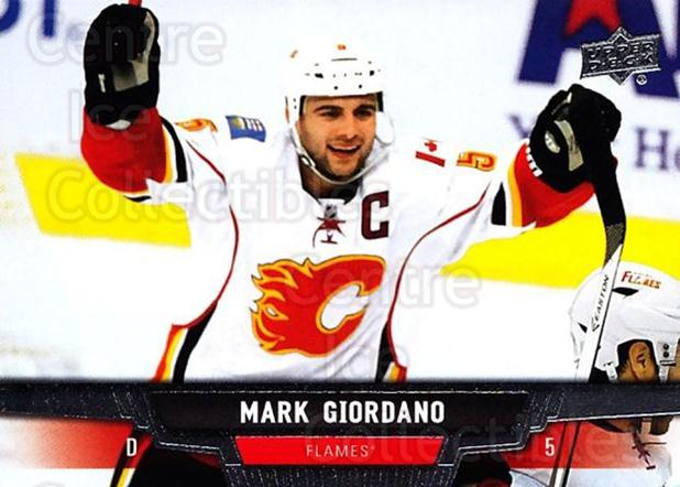 2013-14 Upper Deck #280 Mark Giordano<br/>13 In Stock - $1.00 each - <a href=https://centericecollectibles.foxycart.com/cart?name=2013-14%20Upper%20Deck%20%23280%20Mark%20Giordano...&quantity_max=13&price=$1.00&code=672868 class=foxycart> Buy it now! </a>